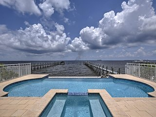 NEW! Lavish Waterfront Home w/ Pool & Shared Dock!
