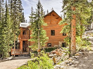 NEW! Fairplay Mtn Cabin w/ Decks, Ponds & 10 Acres