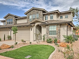 NEW! Resort-Style Townhome near Zion & St. George!