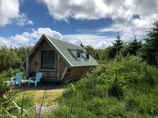 NEW Puffin Tiny House, Isle of Harris-Northton, BeachView, 5 min. walk to beach