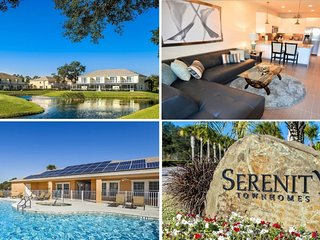 Stylish 3 bed 3 bath pool home with south-facing dip pool close to Disney
