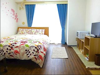 【NEW】NEAR station!Shibuya 4min train!FREE pocket Wifi!!