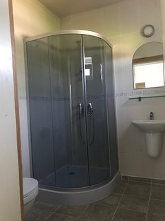 New shower cubicles installed 2018