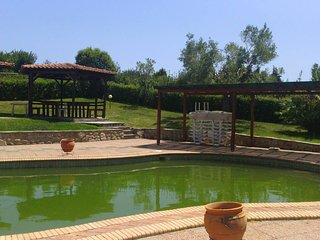 Beautiful Maisonette in Posidi with Garden and Pool
