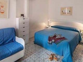 Appartamento Scirocco, monolocale con terrazzo vista mare