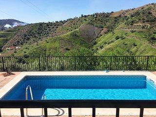 Casa Sesam para 6 personas con piscina privada en la Axarquia