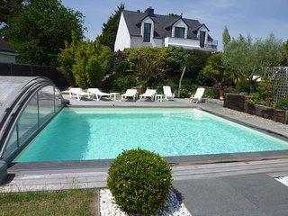 Exceptionnel < les villas de Rhuys > classee 4 etoiles vue mer et piscine privee