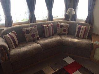 Stunning 8 berth family caravan