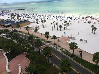 WELCOME TO THE FAMED CLEARWATER BEACH VOTED # 1 BEACH IN THE USA.