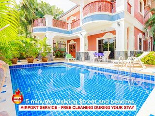 5 bedrooms villa near the beach and Walking Street