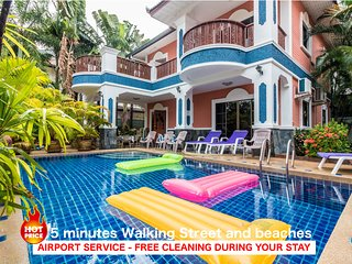 6 bedrooms villa GT near the beach and Walking Street