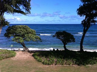 Kauai Kapaa #325 ocean view Vacation Rental condo by owner - DIRECT OCEANFRONT !