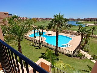 2 bedroom 2 bathroom precious apartment with scenic views Mar Menor  Golf Resort