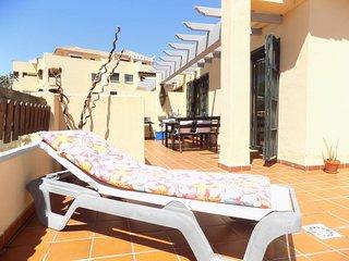 Penthouse Mijas costa with 120m2 sunny terrace