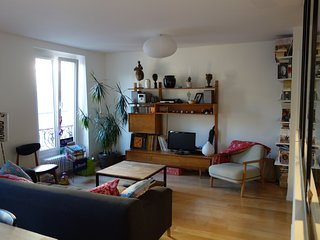 75sqm - fully refurbished flat Buttes Chaumont