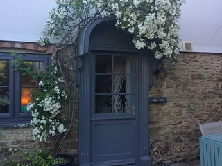 Cider House romantic roses over the door cottage