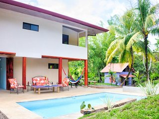 NEW LISTING! Four-apartment jungle lodge w/saltwater pool, terrace & views