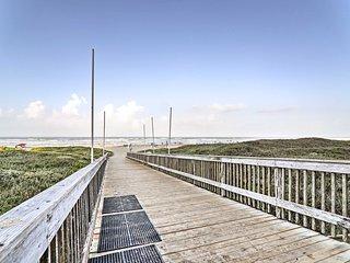 Updated South Padre Island Condo: Walk to Beach!