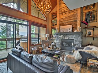 Luxury Ski-In/Ski-Out Whistler Mountain Chalet