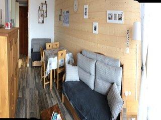 Appartement entièrement rénové avec départ et arrivée skis aux pieds