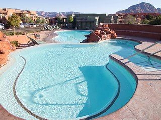 Two bedroom unit at Sedona Summit. July 21 to July 28, 2018