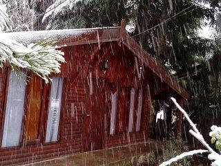 Frente nevando