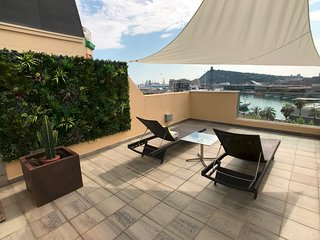 Luxury Aircon Beach Apt Barcelona.