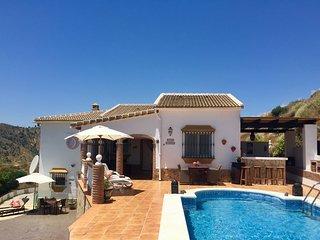 Villa Casira, Vinuela (Axarquia/Malaga) met zwembad