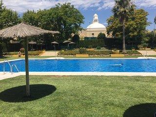 Gran apart. con piscina cerca Puerto Banus