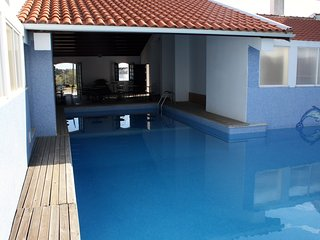 Beach apartment Praia Lota with unspoilt sea view and use of pool