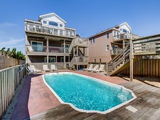 Sails III | Oceanfront | Private Pool, Hot Tub | Nags Head