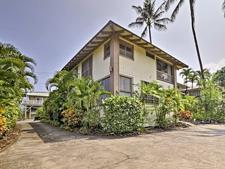 NEW! Cozy Kona Studio - Walk to Beaches & Shopping