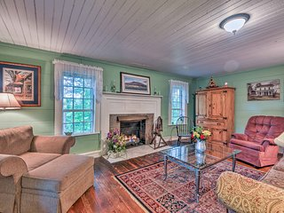 NEW! Dobson Home in the Yadkin Valley Wine Region!