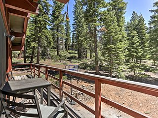 NEW! Lake Tahoe Home w/Deck - 10 Mins to Northstar