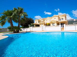 4 bedroom Villa in Calpe, Valencia, Spain : ref 5698246