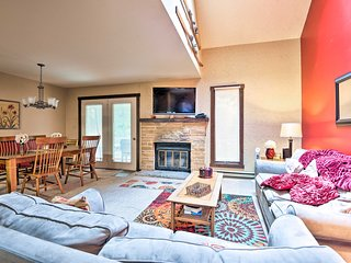 Cozy Poconos Home w/ Fireplace Near Big Boulder!