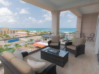 LEVENT RESORT - Ocean Jewel Two-bedroom condo - LV52E - BEACH VIEW - EAGLE BEACH