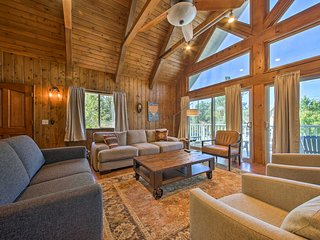 Spacious Lake Arrowhead House w/ Lake Views & Deck
