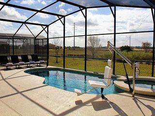 ♥EEV♥ South-facing Pool & Spa - Gated Resort - Games Room