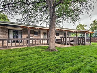 Old Town Arvada Family Home w/ Deck & Game Room!