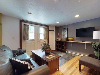 NEW LISTING! Studio apartment w/ mountain view-easy access to lake & ski areas