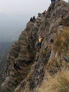 Mountain climbing in Mukteshwar