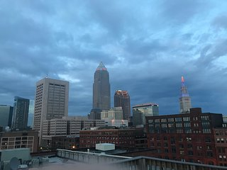 Downtown Cleveland Condo with City View