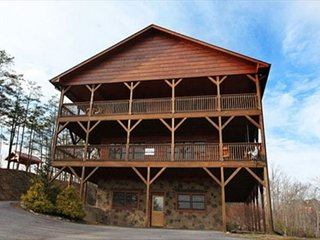 Party Hut Sevierville Cabin