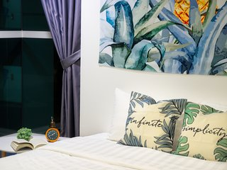 B201 (Dual) . ★Sunset Watch,Rooftop Pool,Family Suite★