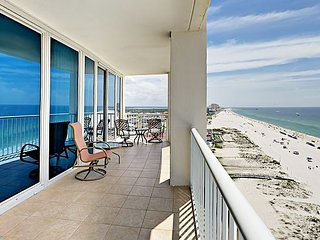 15th Floor 3BR Gulf Coast Corner-Unit w/ 2 Balconies - Infinity Pool & Sauna