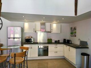 Gite Regrunel - La Grange, 3 bedroom, 2 bathroom luxury barn conversion