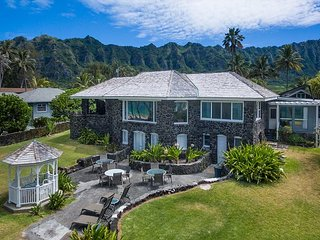 Waimanalo Beachfront - Restored Historic home on 5 miles of white sand beach.