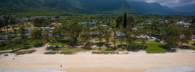Hale Pohaku sulla spiaggia!