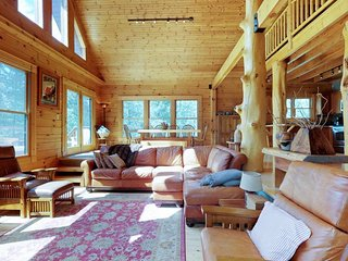 NEW LISTING! Beautiful cabin w/private hot tub & forest views, quiet location
